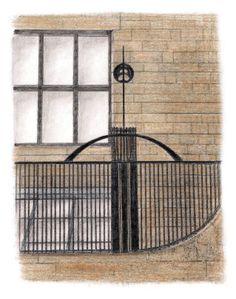 Glasgow School of Art, Charles Rennie Mackintosh. 1899