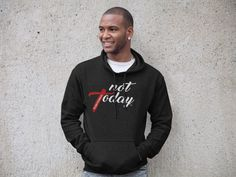 Not Today - #LUKE10AND19 Style - Unisex Hoodie