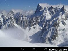 Winter Mountains  Android App - playslack.com , Winter mountains - enjoy pretty sceneries of exciting winter mountains. Live wallpapers have practical motion graphics and can be put  to most smartphones and tablet PCs.