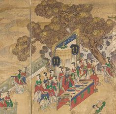 The Banquet of Seowangmo (Xiwangmu), Queen Mother of the West