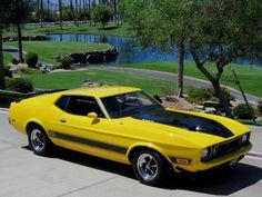 1973 FORD MUSTANG MACH I Click to Find out more - http://fastmusclecar.com/1973-ford-mustang-mach-i/