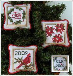Christmas Ornaments - Cross Stitch Pattern