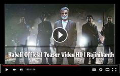 Kabali Teaser HD Video Official All Set For Release Check Dates Rajinikanth