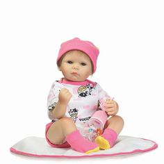 72.62$  Buy now - http://ali8pa.shopchina.info/go.php?t=32810631053 - Wear Baby Cartoon Cloth 20'' Reborn Baby Doll Realistic Soft Silicone Newborn Baby Doll Fashion Toy For Kits Birthday Xmas Gifts 72.62$ #SHOPPING