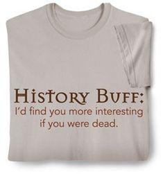 Fun. True...but don't die.