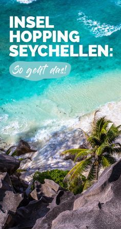 Inselhopping Seychellen: So geht's Island hopping planned in the Seychelles? Here I show what that can look like and give tips on island selection and duration. Seychelles Honeymoon, Seychelles Islands, Holidays Around The World, Travel Around The World, Around The Worlds, Places To Travel, Travel Destinations, Travel Tips, Koh Lanta Thailand