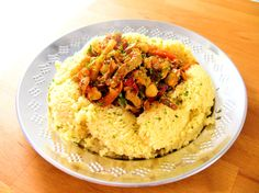 Pork Tagine with Couscous
