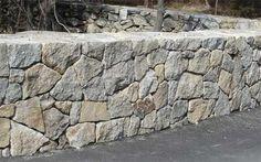 split face stone wall