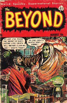 Comic Book Cover For The Beyond #14