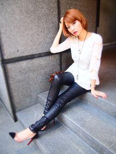 PEPLUM LADY (by Ryoko Otsuka) http://lookbook.nu/look/4000228-PEPLUM-LADY