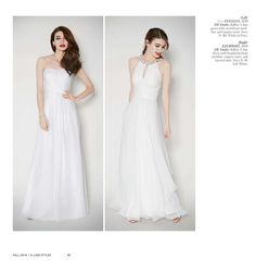 David's Bridal Online Catalog/ the DB Studios dress with the jeweled neckline is a favorite!