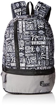 F Gear Burner P8 20 Ltrs White Casual Backpack (2184)