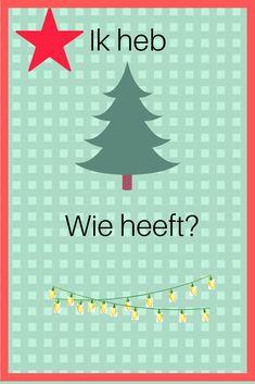 """Spel """" Ik heb, wie heeft…?"""" – kerstversie – Miranda Wedekind Onderwijsbegeleiding Too Cool For School, Jingle Bells, Xmas, Christmas, December, Classroom, Education, Winter, Navidad"""