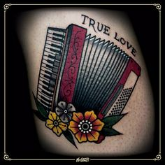 Image result for accordion tattoo