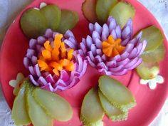 Festive decoration salads - Праздничное оформление салатов / Едальня