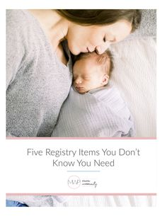 Five baby registry items you don't know you need yet. After having two babies of my own, I can attest that you'll be SO happy you have these items! Baby Registry Items, Lifestyle Newborn, Second Baby, Newborn Photographer, Knowing You, Babies, Happy, Babys, Newborns