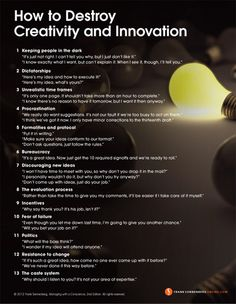 How+to+Destroy+Creativity+and+Innovation