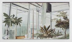 slider New York Art, Oil On Canvas, Scene, Greenhouses, Gallery, Artwork, Plants, Frames, Photograph