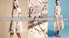 Projektant 100% czysty naturalny mulberry silk organza tkaniny satyna 1 miernik biały i różowy o017(China (Mainland))