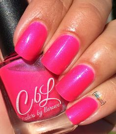 My Nail Polish Obsession: Colors by Llarowe Go Faster Collection (partial co...