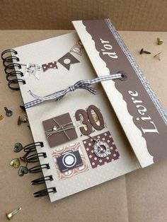 carte d'invitation scrapbooking modèle One Direction  Le blog de createlier76