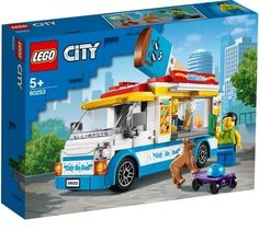 Superb LEGO 60253 City Great Vehicles Ice-Cream Truck Now at Smyths Toys UK. Shop for LEGO City At Great Prices. Free Home Delivery for orders over and for all Account Holders! Free Click & Collect Within 1 Hour! Building Sets For Kids, Lego Building Sets, Legos, Boutique Lego, Skateboard, Best Lego Sets, Highlights Kids, Colorful Ice Cream, Ice Cream Cart