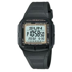 [MENINAS GRINGAS] Relógio Masculino Casio DB-36-9AVDF c/ Agenda - 1x 97,68 CC 1x 88,80 CA