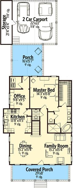 plan 18255be 3 bedroom storybook bungalow bungalow bedrooms and