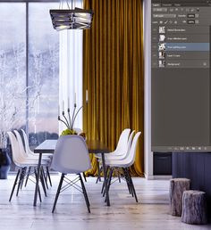 Making of Modern Apartment by Rakan Jandali Timber Planks, Timber Beams, Timber Flooring, Vray Tutorials, 3ds Max Tutorials, Vfx Tutorial, Living In Dubai, V Ray Materials, Photoshop Rendering