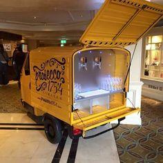 Prosecco van hire for weddings