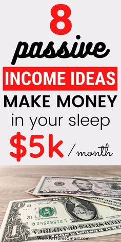 Earn Money From Home, Earn Money Online, Way To Make Money, Money Today, Online Earning, Passive Income Streams, Creating Passive Income, Online Income, Online Jobs