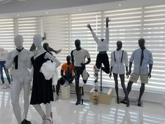 The best mannequin variety at The Albex Group new showroom in Dubai Showroom, Dubai, Group, Fashion, Moda, Fasion, Fashion Showroom, Trendy Fashion, La Mode
