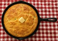 Classic cornbread with the added kick of pepper jack cheese and diced jalapeno pepper