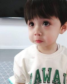 ✔ Cute Kids Style Little Boys Cute Asian Babies, Korean Babies, Asian Kids, Cute Babies, So Cute Baby, Cute Boys, New Baby Boys, Baby Kids, Baby Baby