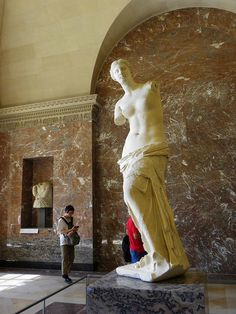 VENUS IN THE LOUVRE by carolynthepilot, via Flickr