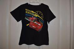 2T Lightning McQueen vs The King 43 T-Shirt Yellow NWT