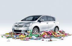 Toyota Verso on Behance