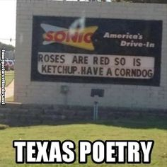 Funny Texas Poetry