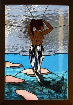 stained glass mermaid - Google Search