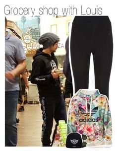 """Grocery shop with Louis"" by liamismybabe ❤ liked on Polyvore featuring NIKE, adidas Originals, Paul Smith, women's clothing, women, female, woman, misses, juniors and OneDirection"