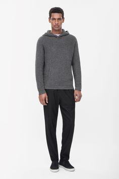 COS | Hooded jumper