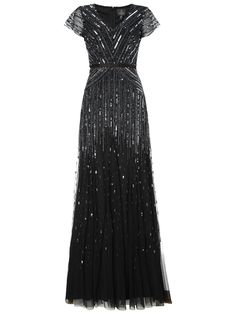 Adrianna Papell Long Sleeve Dress, Gunmetal
