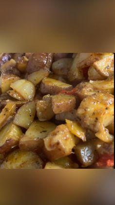 Great Recipes, Dinner Recipes, Delicious Recipes, Potato Recipes, Vegetable Recipes, Meal Ideas, Food Ideas, Sausage, Food Porn