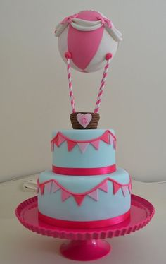 Up, up and away... Cake by ilovebc2