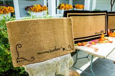These customizable #DIY #inspirational welcome mats will give your guests a warm…