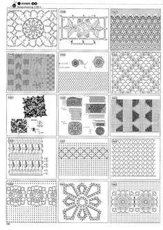 Mis Pasatiempos Amo el Crochet: 2146 Patrones gratis de motivos