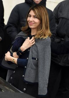 Director Sofia Coppola attends the Chanel Haute Couture Spring Summer 2018 show as part of Paris Fashion Week on January 2018 in Paris, France. Madison Beer Bikini, Sofia Coppola Style, Work Fashion, Paris Fashion, Urban Chic, Spring Summer 2018, Stylish Girl, Timeless Fashion, Pretty Outfits