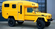 Created by custom truck builder Orange Work in Germany, the Mercedes Lennson Camper is the ultimate off-road and expedition vehicle. Built using an already impressive Mercedes G-Wagon, the beastly camper is powered by a powerful 2 Off Road Camper, Truck Camper, Camper Trailers, Mercedes Benz G Klasse, Mercedes G Wagon, Mercedes Camper, Motorcycle Camping, Camping Gear, Land Rover Defender