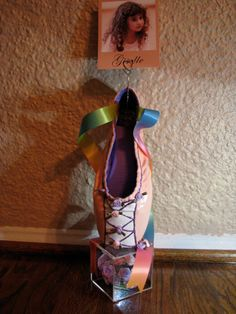 Giselle Pointe Shoe Photo Holder Sculpture by LauriJon by LauriJon, $42.00