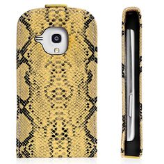 Snake Skin Pattern Design Premium Samsung Galaxy S4 i9500 Wallet Protective Case Cover Yellow $5.39 #samsungcase #galaxyS4 #samsung #covercases #protectivecase #snakecase #cheapcases #galaxyS4case #android #cellz.com #bestcases #freeshipping #discount #promotioncases #fashion #smartphone #accessories